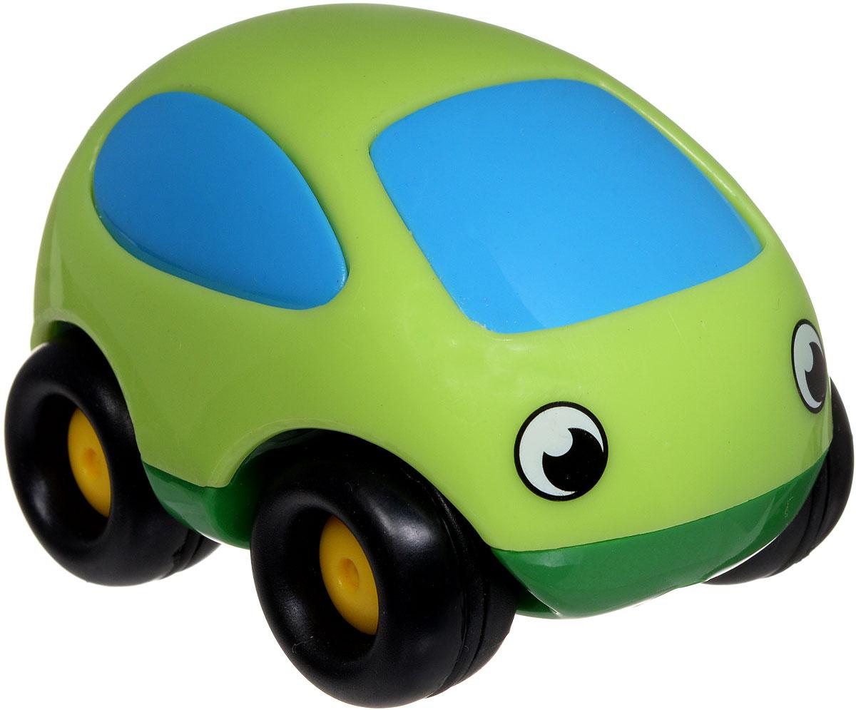 Smoby Мини-машинка Vroom Planet цвет салатовый750030_салатовыйМини-машинка Smoby Vroom Planet привлечет внимание вашего ребенка и надолго останется его любимой игрушкой. Плавные формы без острых углов, яркие цвета - все это выгодно выделяет эту игрушку из ряда подобных. Машинка развивает концентрацию внимания, координацию движений, мелкую моторику рук, цветовое восприятие и воображение. Малыш будет часами играть с этой машинкой, придумывая разные истории.