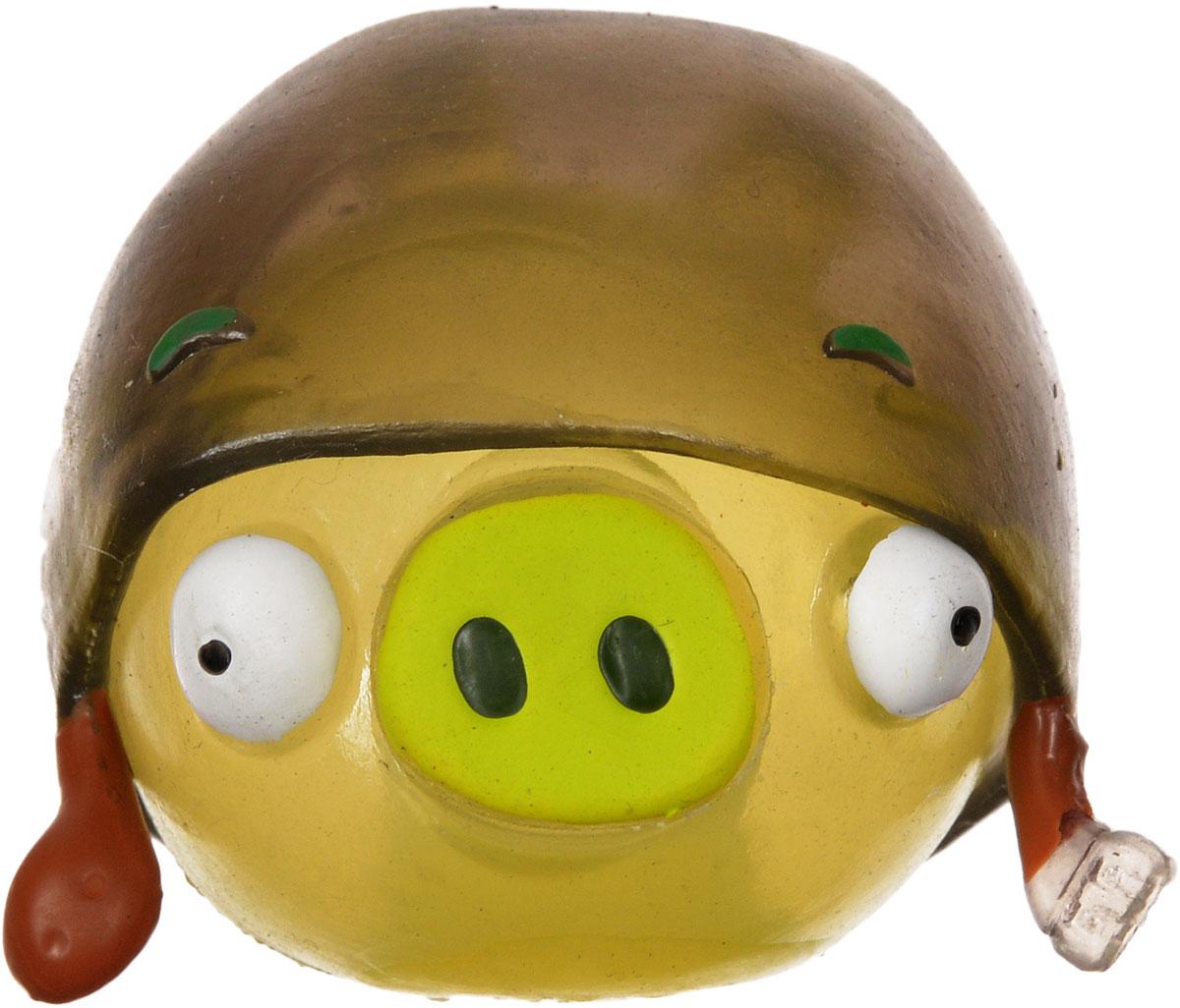 Angry Birds Игрушка-мялка с парашютом Свин в шапке50331-0000012-04_свин в шапкеДетская игрушка Angry Birds Свин в шапке - это игрушка-мялка, выполненная в виде персонажа всеми любимой игры Angry Birds. Игрушка выполнена из мягкой резины, внутри которой находиться жидкий наполнитель, благодаря чему она легко изменяет форму и структуру при приложении к ней физической силы, а затем принимает первоначальный вид. В комплект входит также каска с парашютом, которую можно надеть на игрушку и запустить ее в воздух. Игрушка-мялка с парашютом Свин в шапке наверняка понравится вашему малышу. Порадуйте его таким замечательным подарком!