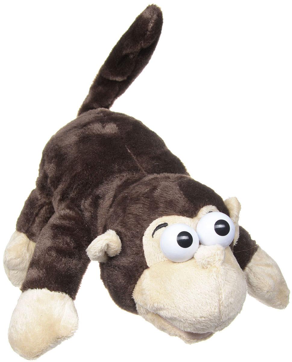 Sonata Style Мягкая игрушка Обезьяна 28 см2097116_обезьянаМягкая озвученная игрушка Обезьяна станет лучшим другом для любого ребенка. Игрушка изготовлена из безопасных, приятных на ощупь текстильных материалов в виде лежащей коричневой обезьянки. Игрушка реагирует на прикосновения - начинает задорно смеяться и переворачиваться. Удивительно веселая игрушка принесет радость и подарит своему обладателю мгновения нежных объятий и приятных воспоминаний. Порадуйте ребенка такой игрушкой.