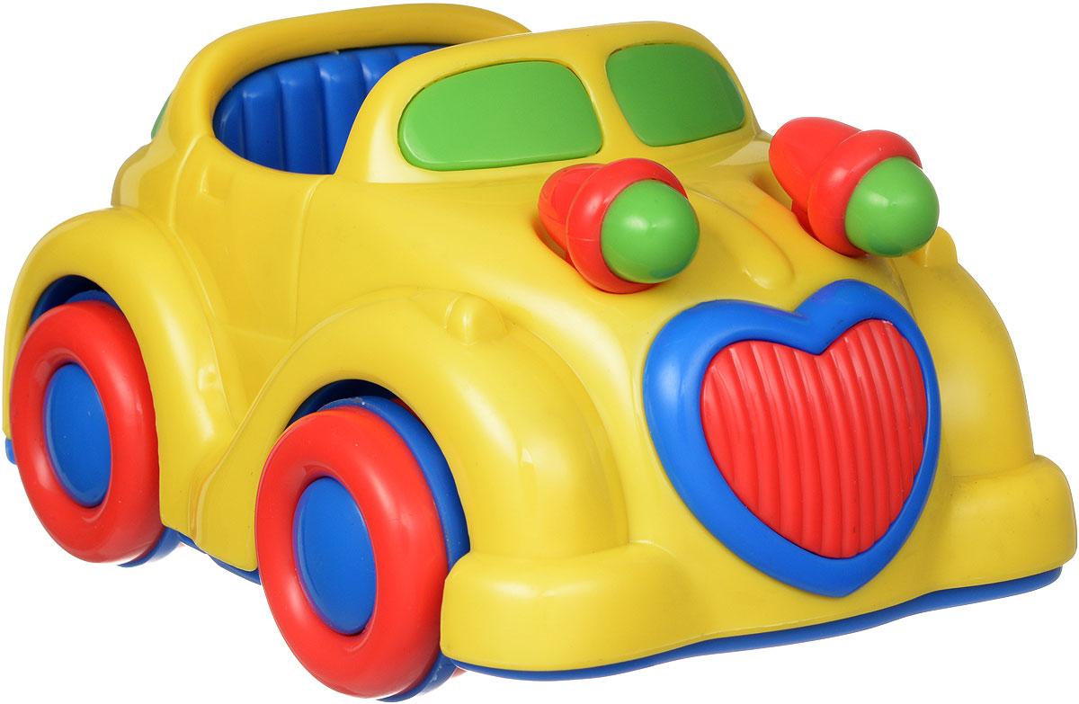 Simba Машинка инерционная цвет желтый4015832_желтая машинкаЯркая игрушка Simba Машинка привлечет внимание вашего малыша и не позволит ему скучать. Она выполнена из безопасного пластика в виде машинки. Округлые без острых углов формы гарантируют безопасность даже самым маленьким. Для запуска установите игрушку на поверхность, толкните назад или вперед, затем отпустите - и машинка продолжит ехать, двигая при этом фарами. Инерционная игрушка Simba Машинка поможет ребенку в развитии воображения, мелкой моторики рук, концентрации внимания и цветового восприятия.