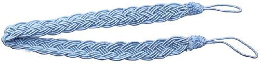 Подхват для штор Goodliving Коса, цвет: голубой, длина 65 см, 2 шт142669_785 голубойПодхват для штор Goodliving Коса представляет собой плотный узор, плетеный в виде косы. Изделие оснащено петлями для фиксации штор, гардин и портьер. Подхват - это основной вид фурнитуры в декоре штор, сочетающий в себе не только декоративную функцию, но и практическую - регулировать поток света. Такой аксессуар способен украсить любую комнату. Длина подхвата (с учетом петель): 65 см. Ширина подхвата: 2,5 см.
