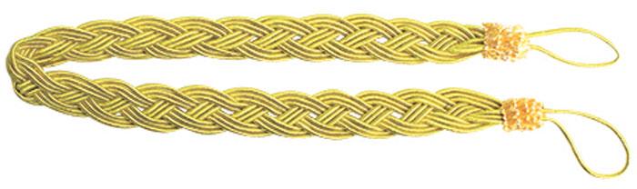 Подхват для штор Goodliving Коса, цвет: желтый (23), длина 62 см, 2 шт. 77117417711741_23 бледно-желтыйПодхват для штор Goodliving Коса представляет собой плотный узор, плетеный в виде косы. Изделие оснащено петлями для фиксации штор, гардин и портьер. Подхват - это основной вид фурнитуры в декоре штор, сочетающий в себе не только декоративную функцию, но и практическую - регулировать поток света. Такой аксессуар способен украсить любую комнату. Длина подхвата (с учетом петель): 62 см. Ширина подхвата: 2,5 см.