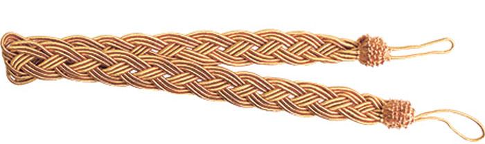 Подхват для штор Goodliving Коса, цвет: золотисто-коричневый (42), длина 62 см, 2 шт. 77117417711741_42 золотисто-бежевыйПодхват для штор Goodliving Коса представляет собой плотный узор, плетеный в виде косы. Изделие оснащено петлями для фиксации штор, гардин и портьер. Подхват - это основной вид фурнитуры в декоре штор, сочетающий в себе не только декоративную функцию, но и практическую - регулировать поток света. Такой аксессуар способен украсить любую комнату. Длина подхвата (с учетом петель): 62 см. Ширина подхвата: 2,5 см.