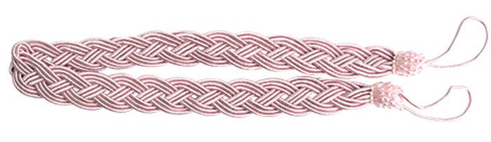 Подхват для штор Goodliving Коса, цвет: розовый (56), длина 62 см, 2 шт. 77117417711741_56 розовыйПодхват для штор Goodliving Коса представляет собой плотный узор, плетеный в виде косы. Изделие оснащено петлями для фиксации штор, гардин и портьер. Подхват - это основной вид фурнитуры в декоре штор, сочетающий в себе не только декоративную функцию, но и практическую - регулировать поток света. Такой аксессуар способен украсить любую комнату. Длина подхвата (с учетом петель): 62 см. Ширина подхвата: 2,5 см.