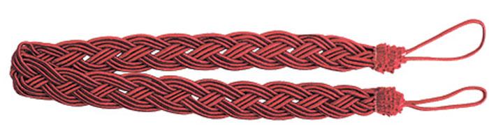 Подхват для штор Goodliving Коса, цвет: красный (15), длина 62 см, 2 шт. 77117417711741_15 красныйПодхват для штор Goodliving Коса представляет собой плотный узор, плетеный в виде косы. Изделие оснащено петлями для фиксации штор, гардин и портьер. Подхват - это основной вид фурнитуры в декоре штор, сочетающий в себе не только декоративную функцию, но и практическую - регулировать поток света. Такой аксессуар способен украсить любую комнату. Длина подхвата (с учетом петель): 62 см. Ширина подхвата: 2,5 см.