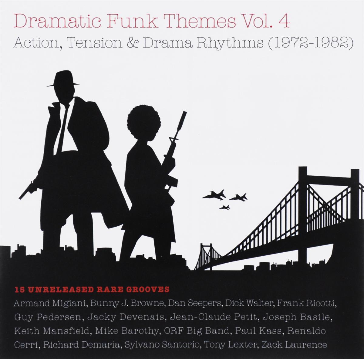 Dramatic Funk Themes Volume 4. Action, Tension & Drama Rhythms (1972-1982)