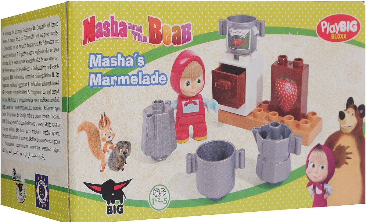 Play Big Конструктор Маша и Медведь Мармелад800057090_вид4Конструктор Маша и Медведь обязательно порадует малыша и поможет погрузиться в атмосферу любимого мультфильма. В наборах вы найдете фигурку Маши с различными аксессуарами. Все детали конструктора совместимы с деталями серии Lego Duplo. Игры с конструкторами прекрасно формируют у детей понимание форм и объемов, они замечательно развивают мелкую моторику и тактильные ощущения. Набор изготовлен из безопасного высококачественного пластика.