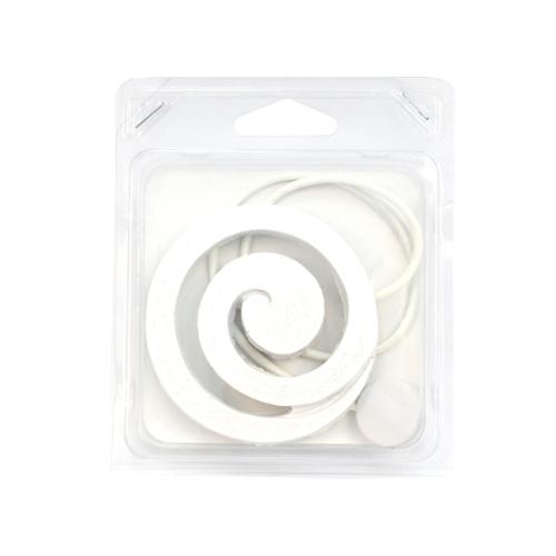 Подхват для штор Wehome Завиток, на магнитах, цвет: белый7710620_белыйПодхват для штор Wehome Завиток, выполненный из полирезина, можно использовать для фиксации штор или для формирования декоративных складок на ткани. С его помощью можно зафиксировать шторы или скрепить их, придать им требуемое положение, сделать симметричные складки. Благодаря магнитам подхват легко надевается и снимается. Подхват для штор является универсальным изделием, которое превосходно подойдет для любых видов штор. Подхваты придадут шторам восхитительный, стильный внешний вид и добавят уют в интерьер помещения. Длина подхвата: 47,5 см. Диаметр декоративного элемента: 8 см.