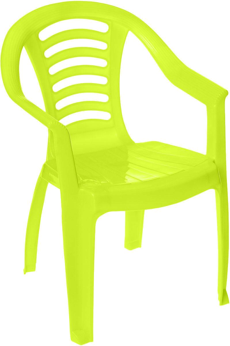 PalPlay Детский стульчик цвет салатовый332_салатовыйДетский стульчик PalPlay станет незаменимым аксессуаром для игр ребенка как в помещении, так и на открытом воздухе. Легкий, но очень прочный стульчик эргономичной формы обеспечивает удобство и комфорт ребенку. Изделие имеет устойчивую конструкцию, удобные подлокотники и безопасные закругленные углы. Теперь у вашего ребенка будет отдельный стул, который идеально подойдет ему по размеру.