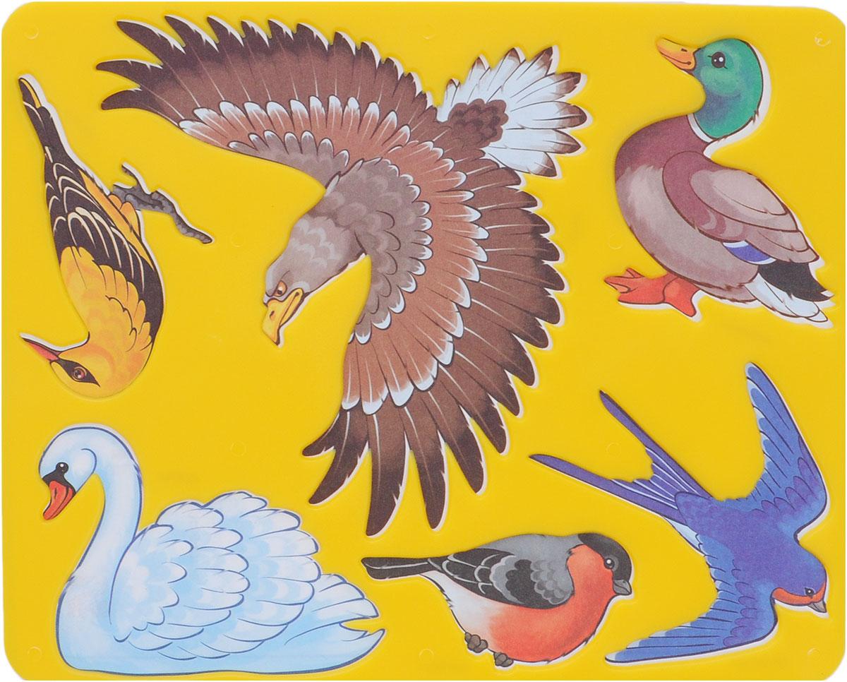 Луч Трафарет прорезной Птицы цвет желтый9С 449-08Трафарет Луч Птицы, выполненный из безопасного пластика, предназначен для детского творчества. По трафарету маленькие художники смогут нарисовать и отдельных птиц, и сюжетные картинки. Для этого необходимо положить трафарет на лист бумаги, обвести фигуру по контуру и раскрасить по своему вкусу или глядя на цветную картинку-образец. Трафареты предназначены для развития у детей мелкой моторики и зрительно-двигательной координации, навыков художественной композиции и зрительного восприятия.