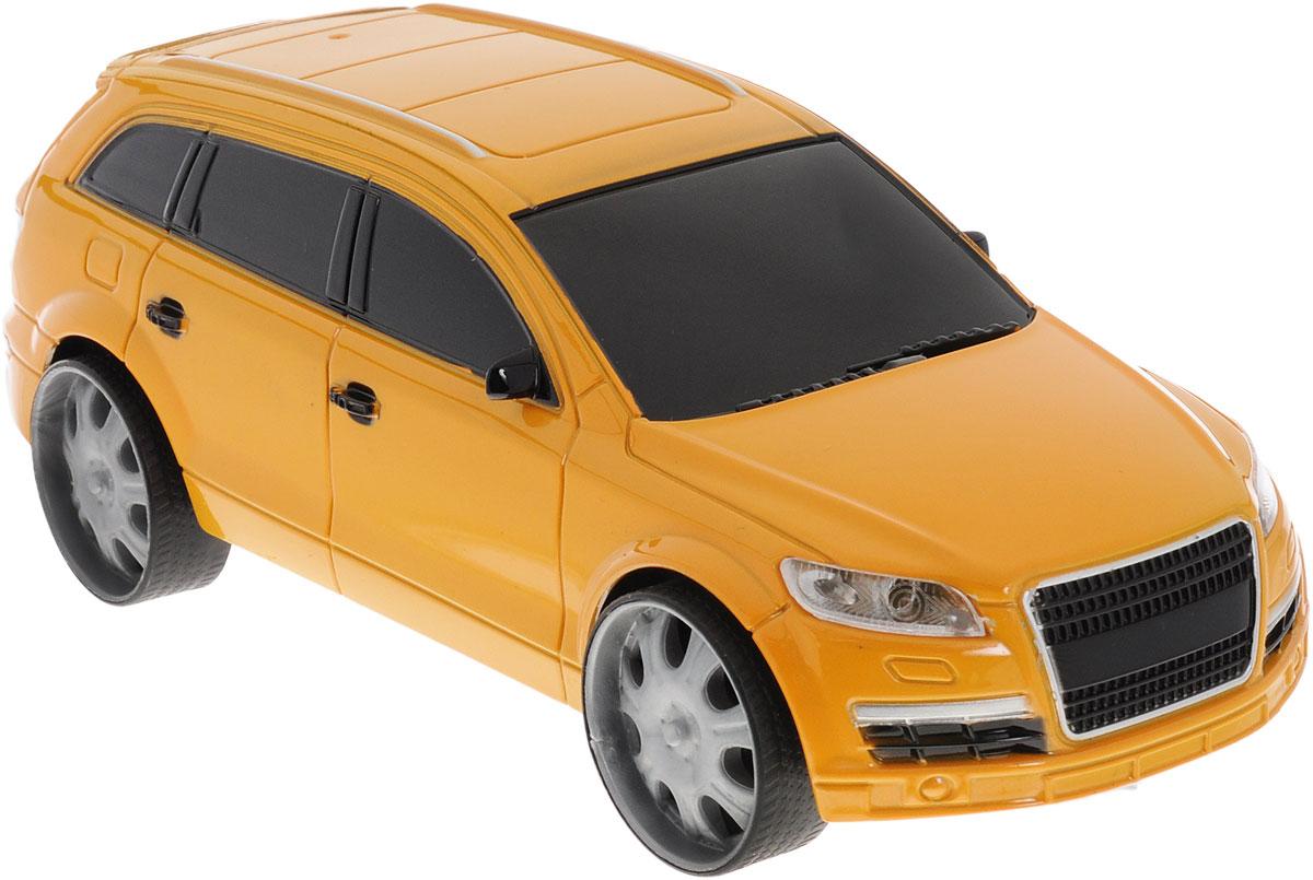 Пламенный мотор Машинка инерционная Автопарк цвет темно-желтый87426_темно-желтыйИгрушечный автомобиль Пламенный мотор Автопарк с инерционным механизмом обязательно понравится вашему малышу. Он привлечет внимание вашего ребенка и надолго останется его любимой игрушкой. Машинка выполнена из пластмассы с элементами металла. Благодаря инерционному механизму игрушка может двигаться самостоятельно, стоит только немного подтолкнуть машинку вперед или назад, а затем отпустить, и она поедет сама. Игрушка развивает концентрацию внимания, координацию движений, мелкую моторику рук, цветовое восприятие и воображение. Малыш будет в восторге от такого подарка!