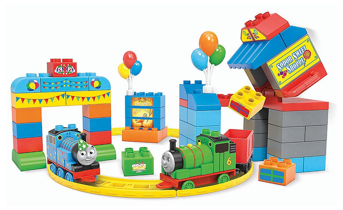 Mega Bloks Томас и друзья Конструктор День рождения Томаса