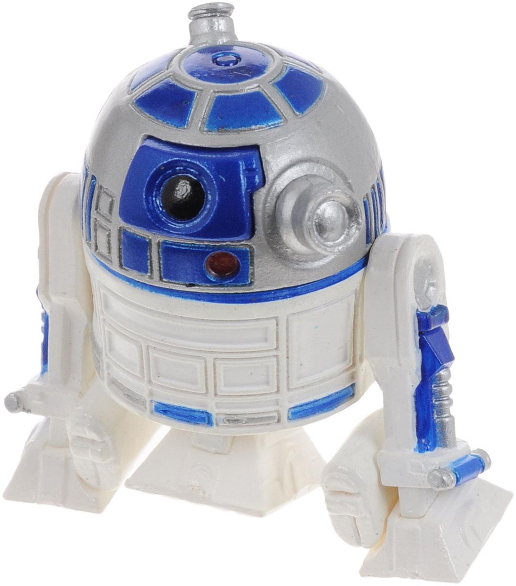 Star Wars Фигурка R2-D284627Сборная фигурка Star Wars R2-D2 поможет вам и вашему ребенку придумать увлекательное занятие на долгое время. Модель представляет собой робота-дроида R2-D2, чей необычный внешний вид и авантюрный характер запомнились всем зрителям со дня первого выхода на экраны IV эпизода Звёздных Войн. Фигурка имеет подвижную голову и конечности. Благодаря небольшому размеру и отличному качеству, она прекрасно подходит как для игры, так и для коллекционирования. Процесс сборки развивает интеллектуальные и инструментальные способности, воображение и конструктивное мышление, а также прививает практические навыки работы со схемами и чертежами.