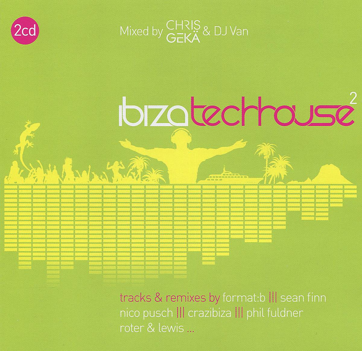Ibiza Tech-House 2 (2 CD) 2015 2 Audio CD