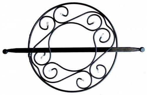 Заколка для штор Мир Мануфактуры, цвет: черный. 697021697021_2 черныйЗаколка для штор Мир Мануфактуры выполнена из металла и украшена пластиковыми бусинами. Заколка - это основной вид фурнитуры в декоре штор, сочетающий в себе не только декоративную функцию, но и практическую - регулировать поток света. Заколки способны украсить любую комнату. Диаметр декоративной части: 14,5 см. Длина палочки: 23 см.