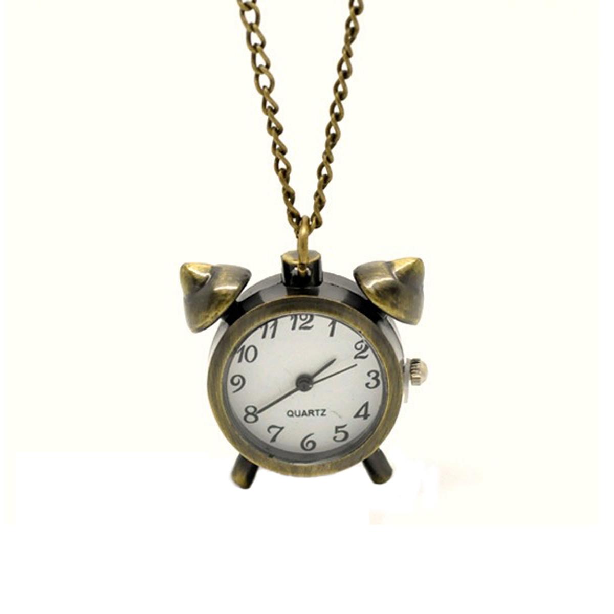 Кулон-часы Будильник. ANTIK-041 ( ANTIK-041 )