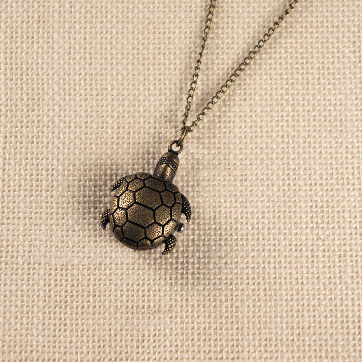 Кулон-часы Черепашка. ANTIK-055 ( ANTIK-055 )