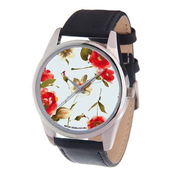 Часы наручные женские Mitya Veselkov Акварель, цвет: серебряный, черный, белый. MV-189MV-189Оригинальные женские часы Mitya Veselkov Акварель выполнены из металлического сплава, натуральной кожи и минерального стекла. Циферблат изделия оформлен изображением цветов. Корпус часов оснащен японским кварцевым механизмом, а также дополнен минеральным стеклом и имеет степень влагозащиты равную 3 atm. Ремешок дополнен практичной пряжкой, которая позволит моментально снимать и одевать часы без лишних усилий. Часы поставляются в фирменном стакане. Часы Mitya Veselkov подчеркнут изящность женской руки и отменное чувство стиля у их обладательницы.