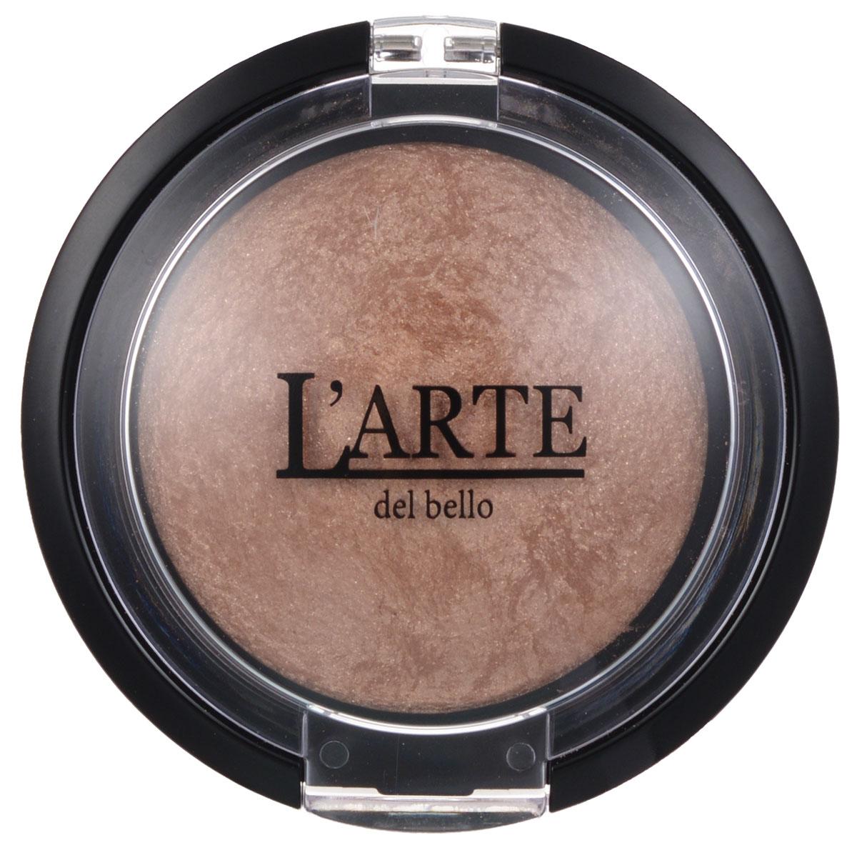 Larte del bello Румяна Velo Celeste, запеченные, тон 01 Нуга, 2,2 г2501Запеченные румяна от Larte del bello Velo Celeste, легкой и шелковистой текстуры, прекрасно наносятся на лицо. Входящие в состав масло жожоба и кукурузный экстракт увлажняют, питают, витаминизируют, смягчают и защищают кожу от вредных воздействий окружающей среды. Также кукурузный экстракт поглощает избыток жира в коже. Легкий мерцающий оттенок позволяет достигать разнообразное количество эффектов и способов использования - на открытые участки тела и зону декольте. Без парабенов. Товар сертифицирован.