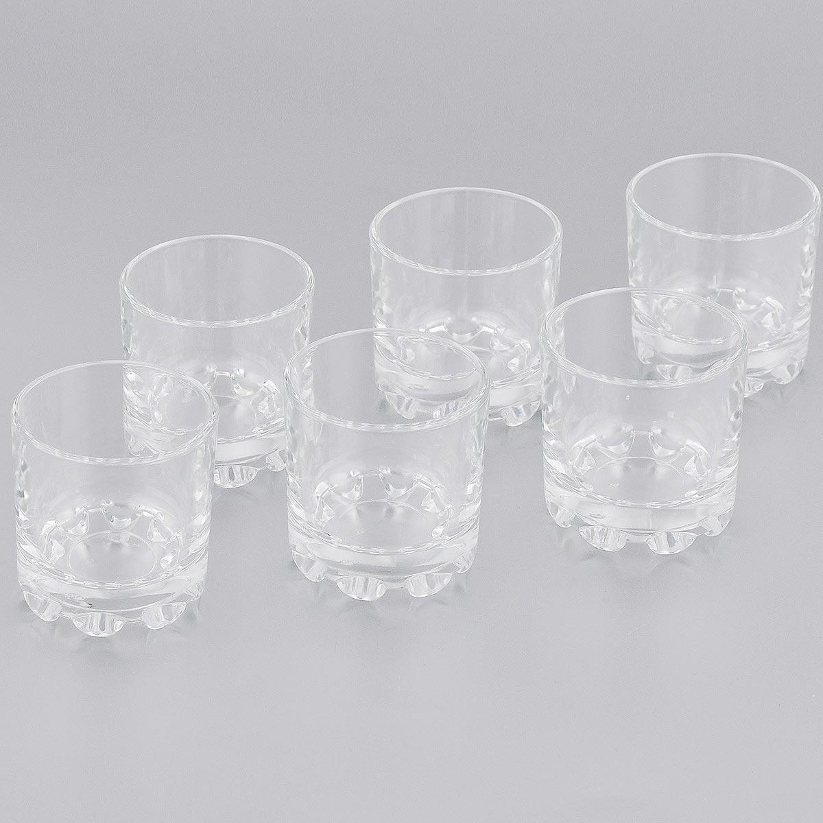 Набор стаканов OSZ Fusion Глория, 50 мл, 6 шт03c886 УНабор OSZ Fusion Глория состоит из шести стаканов, выполненных из прочного натрий-кальций-силикатного стекла. Изделия прекрасно подходят для различных напитков. Набор стаканов OSZ Fusion Глория идеален для ежедневного использования. Функциональность, практичность и стильный дизайн сделают набор прекрасным дополнением к вашей коллекции посуды. Диаметр стакана (по верхнему краю): 5 см. Высота стакана: 5,2 см.