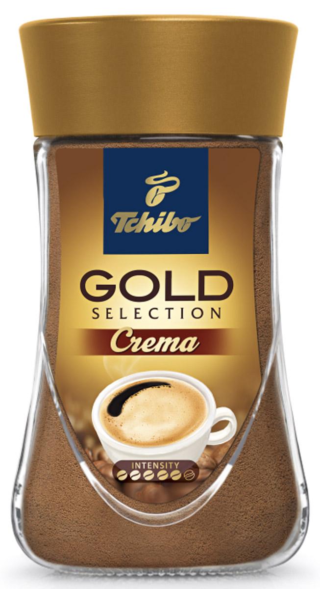 Tchibo Gold Selection Crema кофе растворимый, 90 г