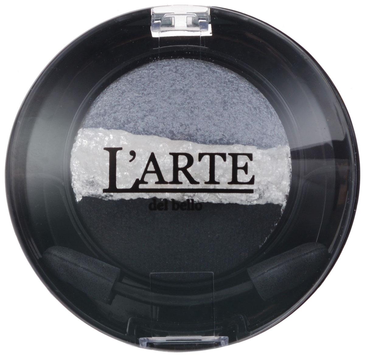 Larte del bello Тени для век Glamorous Trio, запеченные, тон 04 Тишина, 3 цвета, 2 г0304При изготовлении теней от Larte del bello Glamorous Trio использовалась особая производственная технология - запекание. Она позволяет получить дополнительный блеск и сияние. Тени на час помещают в специальную печь, разогретую до 65 градусов по Цельсию. Благодаря нагреванию тени приобретают особые свойства - это особенно заметно при нанесении влажным способом. Нанесенные влажным аппликатором, они образуют плотное, выразительное, сияющее и гладкое покрытие. Плотность нанесения можно варьировать, получая оттенок любой насыщенности. Тени держатся весь день, не скатываются в складочках века. Формула обогащена Витамином Е. Без парабенов. Товар сертифицирован.