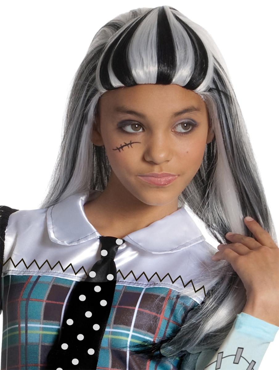 Monster High Парик карнавальный Френки ШтейнН89170У вас намечается веселая вечеринка или маскарад? Карнавальный парик Monster High Френки Штейн из полиэстера, имитирующий волосы одноименной героини Monster High, внесет нотку задора и веселья в праздник и станет завершающим штрихом в создании праздничного образа. Веселое настроение и масса положительных эмоций вам будут обеспечены!