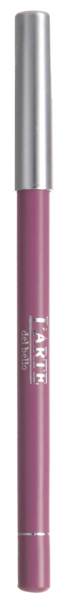Larte del bello Карандаш для губ Professionale, тон №10, 1,12 г1710Определяющим в макияже губ сегодня является не только цвет, но и форма линии естественного контура, создаваемого карандашом. Мягкий грифель карандаша Professionale от Larte del bello обеспечивает безупречный контур - стойкий и ровный, который позволит на весь день сохранить идеальную форму губ. Формула, обогащенная витамином Е, обеспечивает заботу и уход за нежной кожей губ. Без парабенов. Товар сертифицирован.