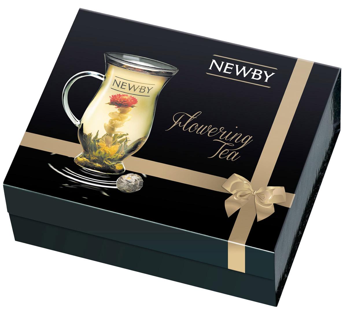 Newby Gift Set Подарочный набор чая (5 вкусов), 110 г + чашка93099Коллекция эксклюзивных распускающихся китайских чаев Newby Gift Set, рассчитана на одну персону. Эти маленькие шарики сворачиваются и скрепляются вручную. Для их создания используется душистый китайский чай высшего качества, собранный только в период прайм-тайм. Чай Гармония: чай зеленый байховый с цветками мариголд и жасмина Чай Личи: чай зеленый байховый ароматизированный с ароматом личи, цветы мариголд, амаранта, жасмина Чай Роза: чай зеленый байховый ароматизированный с ароматом розы, цветы амаранта Чай Страсть: чай зеленый байховый с цветками мариголд, жасмина и амаранта Чай Юнион: чай зеленый байховый с цветками мариголд и амаранта