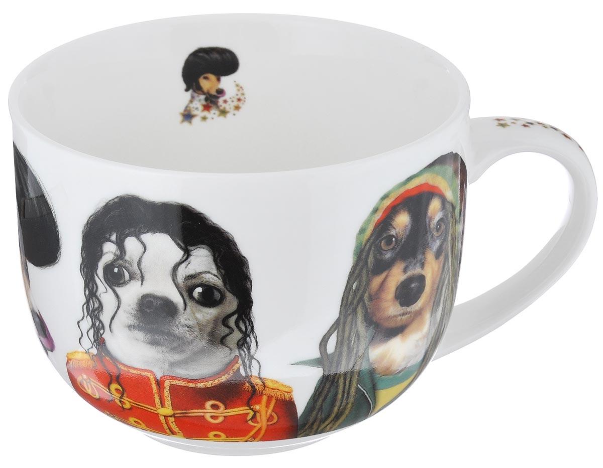 Кружка GiftnHome Star Dogs. Знаменитые лица, 500 млJM-500 STAR DOGSКружка GiftnHome Star Dogs. Знаменитые лица изготовлена из высококачественного костяного фарфора, покрытого слоем сверкающей глазури. Внешние стенки оформлены оригинальным изображением собак в образах знаменитостей. Кружка отличается высоким качеством и стильным дизайном. Она станет прекрасным подарком к любому случаю. Можно использовать в СВЧ и посудомоечной машине.