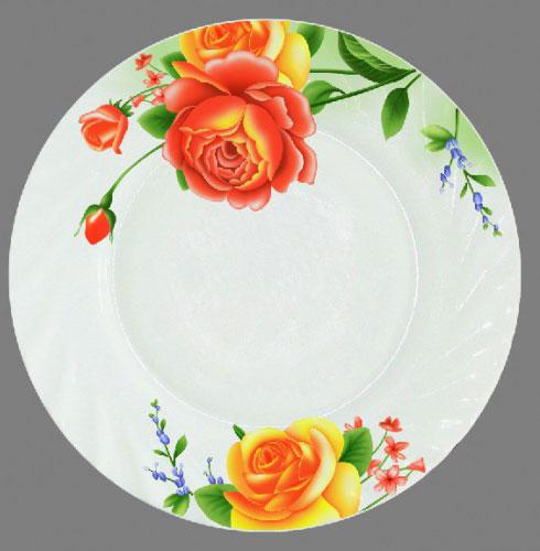 Тарелка обеденная Chinbull Алессио, диаметр 23 смHP-90/6665Обеденная тарелка Chinbull Алессио, изготовленная из высококачественной стеклокерамики, украшена ярким цветочным рисунком. Изящный дизайн придется по вкусу и ценителям классики, и тем, кто предпочитает утонченность. Тарелка Chinbull Алессио идеально подойдет для сервировки стола и станет отличным подарком к любому празднику. Диаметр (по верхнему краю): 23 см.