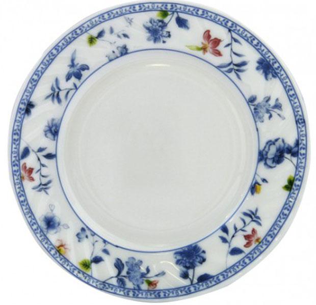 Тарелка обеденная Chinbull Лоран, диаметр 23 смHP-90/6724Обеденная тарелка Chinbull Лоран, изготовленная из высококачественной стеклокерамики, украшена ярким цветочным рисунком. Изящный дизайн придется по вкусу и ценителям классики, и тем, кто предпочитает утонченность и изысканность. Тарелка Chinbull Лоран идеально подойдет для сервировки стола и станет отличным подарком к любому празднику. Диаметр (по верхнему краю): 23 см.