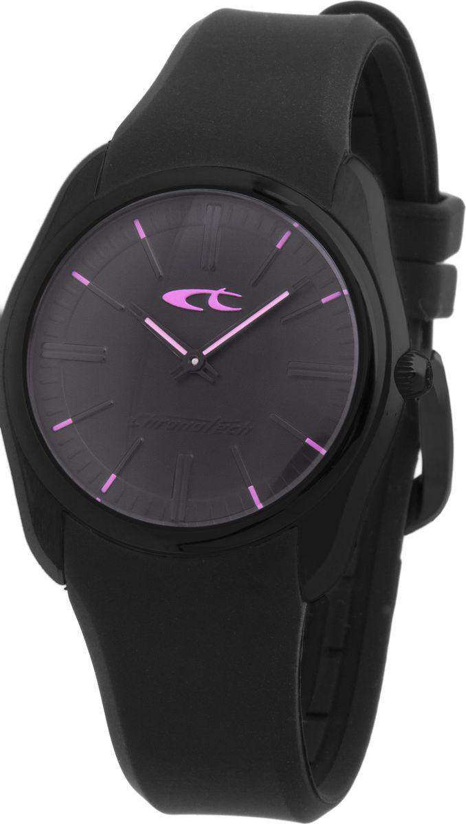 Наручные часы женские Chronotech, цвет: черный. CT.7170L/11PCT.7170L/11PЖенские наручные часы