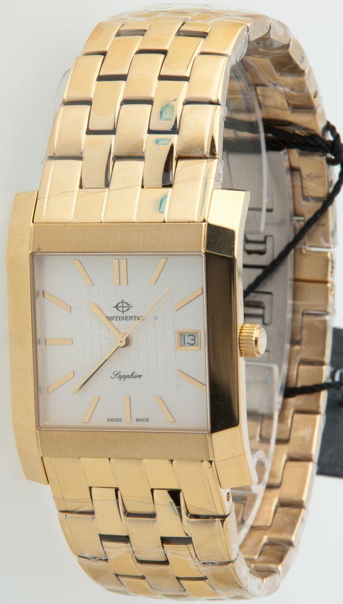 Наручные часы мужские Continental, цвет: золотой. K-2256-137K-2256-137Мужские наручные часы