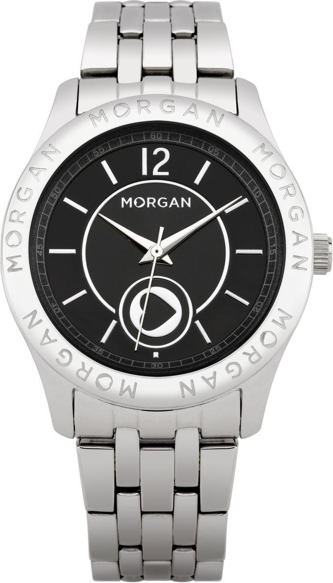 Часы наручные женские Morgan, цвет: серебряный, черный, серый. M1132BMBRM1132BMBRОригинальные женские часы Morgan выполнены из нержавеющей стали и минерального стекла. Циферблат дополнен перламутровой вставкой, корпус часов дополнен символикой бренда. Корпус часов оснащен кварцевым механизмом, имеет степень влагозащиты равную 3 atm, а также дополнен устойчивым к царапинам минеральным стеклом. Браслет часов оснащен замком-клипсой, который позволит с легкостью снимать и надевать изделие. Часы поставляются в фирменной упаковке. Часы Morgan подчеркнут изящность женской руки и отменное чувство стиля у их обладательницы.