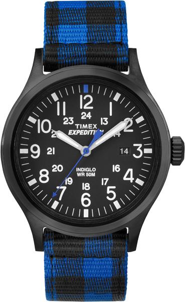 Часы наручные мужские Timex, цвет: стальной, синий, черный. TW4B02100TW4B02100Стильные мужские часы Timex, выполнены из металлического сплава, текстиля и минерального стекла. Циферблат часов дополнен символикой бренда. Часы оснащены кварцевым механизмом, имеют степень влагозащиты равную 5 atm, а также дополнены устойчивым к царапинам минеральным стеклом и индикатором даты. Стрелки часов дополнены светящимся составом, дополнительно циферблат оснащен подсветкой INDIGLO. Ремешок часов оснащен классической пряжкой, которая позволит с легкостью снимать и надевать изделие. Часы поставляются в фирменной упаковке. Часы Timex подчеркнут отменное чувство стиля своего обладателя.