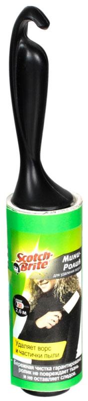Мини-ролик для чистки одежды Scotch-Brite, 30 листовXA-0048-0826-8Мини-ролик Scotch-Brite быстро и тщательно удаляет ворс, частички пыли и шерсть домашних животных с тканевых поверхностей. Ролик не повреждает ткань и не оставляет следов. Ролик состоит из 30 липких листов. Использованные листы легко отрываются, так как лента имеет перфорацию. Удобная ручка обеспечивает комфорт во время чистки. Небольшой размер ролика позволяет носить его с собой в сумочке. Материал: пластик, полипропиленовая лента. Длина ролика (с учетом ручки): 16 см. Ширина липкой ленты: 8 см. Общая длина липкой ленты: 2,6 м. Количество листов: 30 шт.