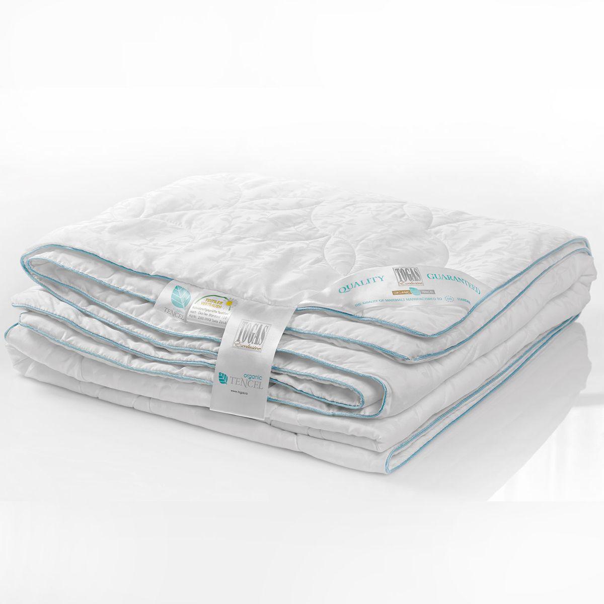 Одеяло Органик тенсель эвкалиптовое волокно в ткани тенсель, 140 х 200 см. 20.04.12.005820.04.12.0058Состав: чехол - 100% жаккард тенсель; наполнитель - 100% тенсель. Детали: одеяло каростепное, классический крой, двойная отстрочка, окантовка голубым шнуром, чехол с растительным жаккардовым рисунком, наполнитель - тенсель. Цвет: белый. Уход: рекомендована сухая чистка. Возможна машинная стирка в домашних условиях в теплой воде (температура не выше 30°С) в деликатном режиме, если есть соответствующее указание в инструкции по уходу. Для длительного хранения и перевозки используйте тканевые сумки-чехлы, в которые одеяло было упаковано при покупке. Регулярно проветривайте одеяла и подушки, желательно на свежем воздухе, но не под прямыми солнечными лучами.