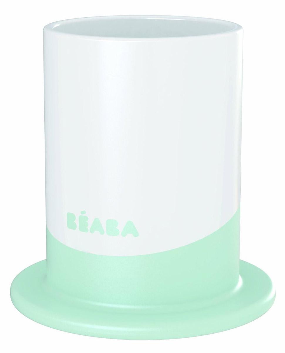 Beaba Пластиковый стакан Ellipse цвет бирюзовый 150 мл913272_бирюзовыйПластиковый стакан Beaba Ellipse емкостью 150 мл выполнен из безопасных материалов. Эргономичная форма удобна для держания маленькими детскими ручками. Дно снабжено прорезиненным кольцом, исключающим скольжение стакана по поверхности стола. Его можно мыть в посудомоечной машине.