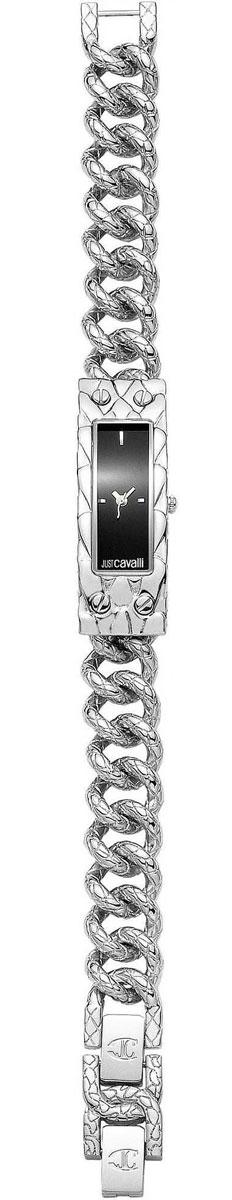 Наручные часы женские Just Cavalli, цвет: стальной, черный. 7253129525NEW6SMALLBLACKDIAL/B7253129525NEW6SMALLBLACKDIAL/BМеханизм: кварцевый, Стекло: минеральное, Браслет: стальной, Водозащита: 3 АТМ Корпус: стальной