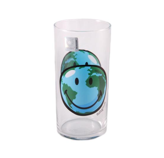 Стакан Luminarc Smiley World, 270 млH4441Стакан Luminarc Smiley World изготовлен из высококачественного стекла. Такой стакан прекрасно подойдет для горячих и холодных напитков. Он дополнит коллекцию вашей кухонной посуды и будет служить долгие годы. Можно использовать в посудомоечной машине и СВЧ. Диаметр стакана (по верхнему краю): 6 см. Высота: 12,5 см.