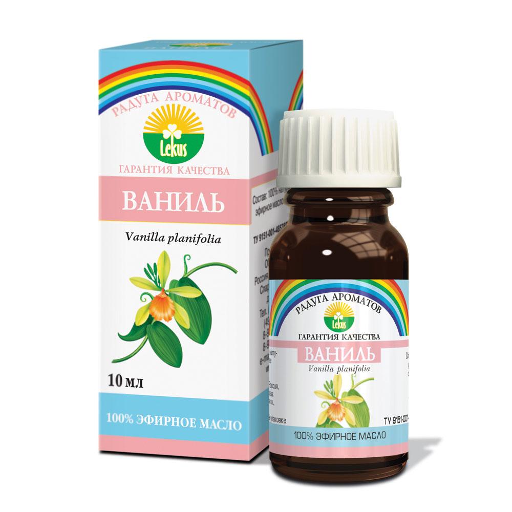 Радуга ароматов Ваниль масло эфирное, 10 мл1381Эфирное масло ванили успокаивает и расслабляет напряженные нервы, улучшает память, способствует концентрации внимания. Эффективно действует в качестве антидепрессанта. Повышает аппетит, нормализующе влияет на работу желудка, способствует лучшей усвояемости пищи. Отличное косметическое средство для кожи чувствительного типа, в особенности поврежденной: масло ванили снимает воспалительные процессы, прекращает шелушение кожных покровов. В ароматических лампах способно создать в доме атмосферу умиротворения и покоя. Способы использования эфирного масла ванили: применяется в аромалампах в количестве 3-5 капель; используется как добавка в пену для ванн – 5-6 капель; обогащает косметические препараты в пропорции 7 капель масла на 15г основного средства. Противопоказанием к использованию масла ванили является индивидуальная чувствительность к компонентам средства.