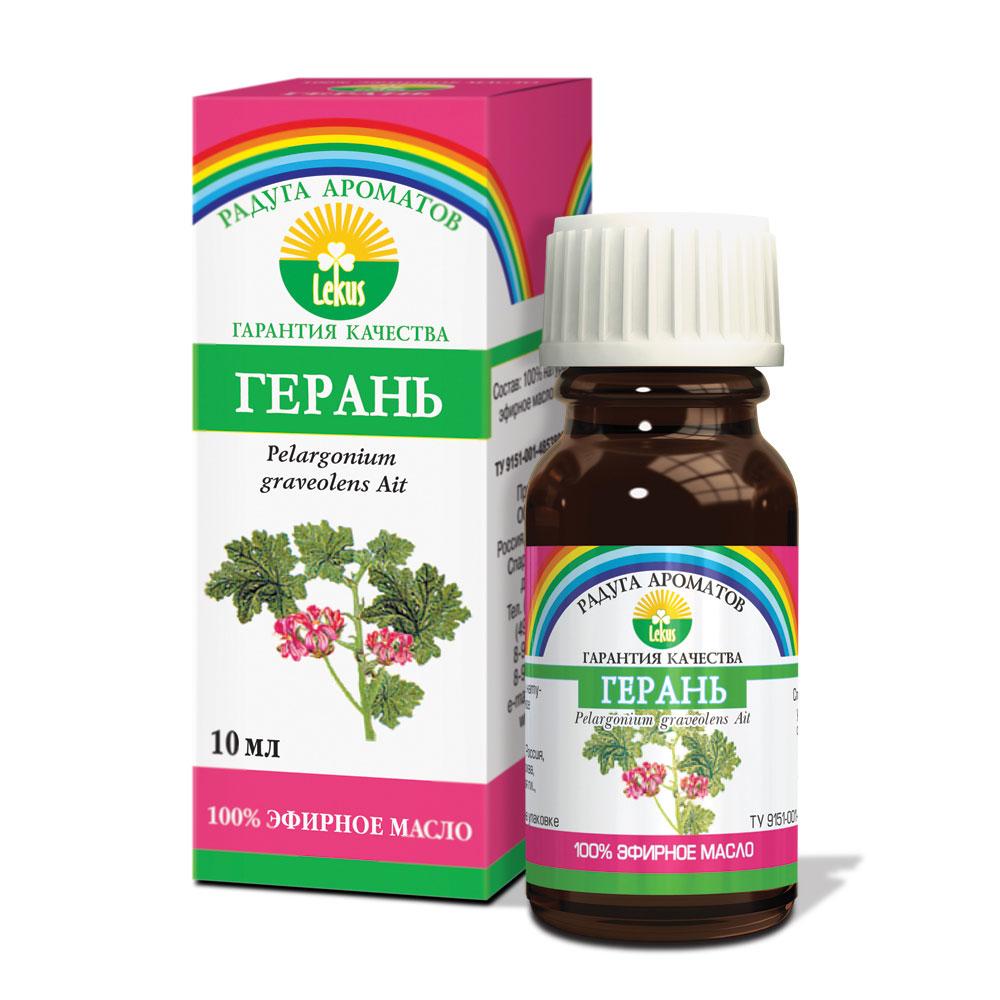 Радуга ароматов Герань масло эфирное, 10 мл