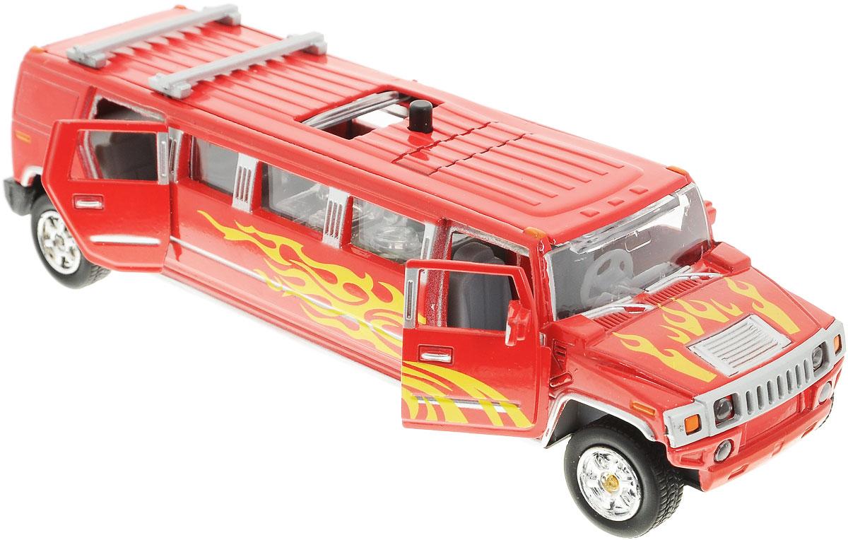 ТехноПарк ЛимузинCT10-051-1_красныйКоллекционная модель ТехноПарк Лимузин, выполненная из пластика и металла, станет любимой игрушкой вашего малыша. Игрушка представляет собой длинный джип-лимузин красного цвета с желтыми языками пламени. У машинки открываются двери и отодвигается люк на крыше. Модель оснащена световыми и звуковыми эффектами, которые появляются при нажатии на специальную кнопку на крыше лимузина. Игрушка оснащена инерционным ходом. Машинку необходимо отвести назад, затем отпустить - и она быстро поедет вперед. Прорезиненные колеса обеспечивают надежное сцепление с любой гладкой поверхностью. Ваш ребенок будет часами играть с этой игрушкой, придумывая различные истории. Порадуйте его таким замечательным подарком! Для работы требуются 3 батарейки типа LR41 (комплектуется демонстрационными).