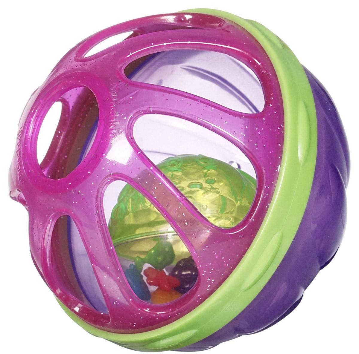 Munchkin Игрушки для ванны Мячик цвет фиолетовый розовый зеленый