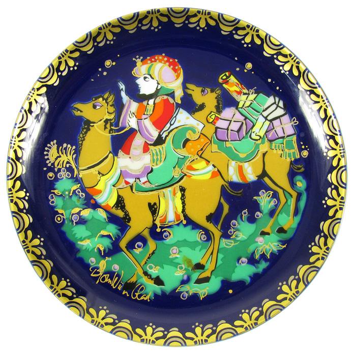 Декоративная тарелка № 7 из серии