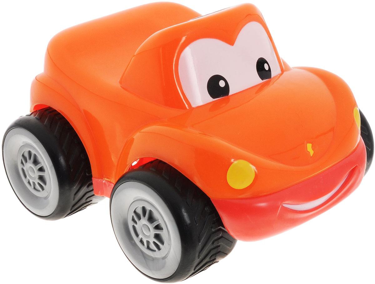 Simba Машинка цвет оранжевый4015249_оранжевыйКрасочные машинки Simba обязательно привлекут внимание вашего малыша. Лобовое стекло машинки представлено в виде больших глазок, а спереди на бампере изображена радостная улыбка. Игрушка имеет обтекаемую форму, благодаря которой малыш не сможет повредиться. Игрушка выполнена из качественного безопасного пластика, имеют форму без острых углов. Крупные колеса позволят малышу легко катать машинку по любой поверхности. Игрушка развивает цветовое восприятие, воображение, подвижность, мелкую и крупную моторику рук.