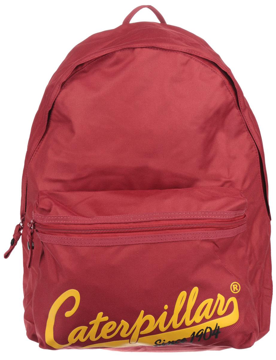 Рюкзак Caterpillar, цвет: темно-красный, 20 л. 82603-149