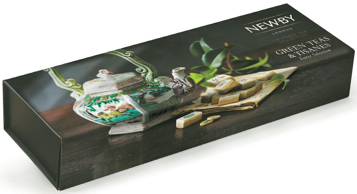 Newby Green Teas & Tisanes подарочный набор зеленого листового чая (4 вкуса), 100г829040Подарочная упаковка Newby Green Teas & Tisanes посвящена возрождению чайной культуры и декорирована уникальными чайниками и шкатулками из коллекции Chitra компании Newby. Внутри каждой картонной коробочки листовой чай отменного качества. Жасминовая принцесса - светло-медовый настой с изысканным ароматом жасмина. Вкус мягкий, деликатный, с цветочными нотками и сладким послевкусием. Имбирь и Лимон - имбирный корень, душистый лемонграсс в смеси с цедрой лимона. Легкий настой бледного желто-соломенного цвета. Бодрящие свежие ароматы лимона и имбиря дают долгое послевкусие. Хунан Грин - этот чай, скрученный в виде плотных спиралей, дает изысканный светло-зеленый настой с нежным ароматом, сладким оттенком во вкусе и мягким послевкусием. Ройбос Апельсин - сочетание цедры сладкого апельсина с ройбосом дает мягкий настой ярко-оранжевого цвета с фруктово - цитрусовыми нотками. Чай заварить горячей водой 70-80 °C и дать настояться 2-3 минуты.