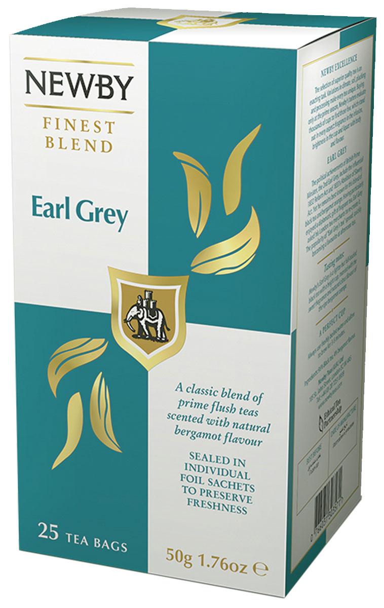 Newby Earl Grey Newby черный чай в пакетиках, 25 шт310060Насыщенный черный чай Newby Earl Grey Newby с натуральным ароматом и цитрусовым вкусом спелого бергамота станет отличным спутником в течение всего дня. Он прекрасно освежает, тонизирует и снимает усталость.